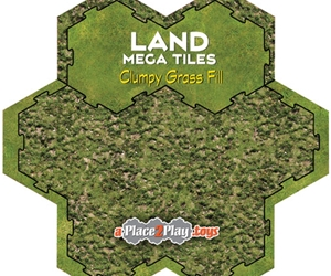 Land - Mega-Tile Fill with Clumpy Grass