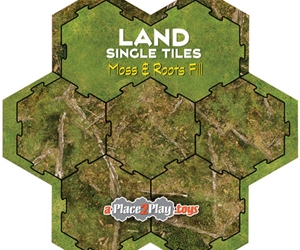 Land - Fill with Moss and Roots