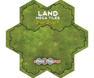Land - Mega-Tile Fill with Green Grass