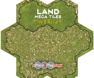 Land - Mega-Tile Fill with Moss & Rocks