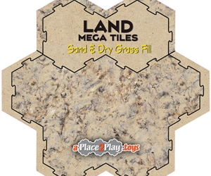 Land - Mega-Tile Fill with Sand and Dry Grass