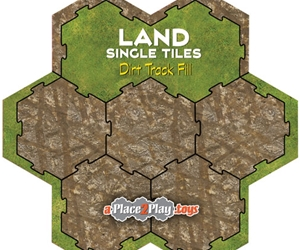 Land - Fill with Dirt Tracks